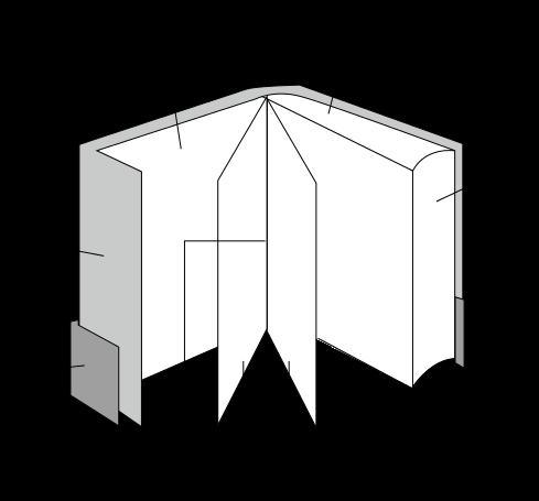 Estrutura externa do livro